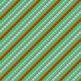 Geometric pattern in spring colors Royalty Free Stock Photography