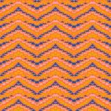 Zig zag geometric pattern Stock Image