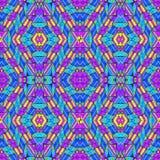 Multicolor Geometric Modern Pattern Stock Image