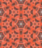 Multicolor geometric pattern in bright color. Stock Image