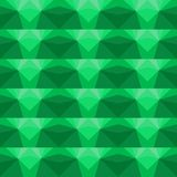 Multicolor geometric pattern in bright green. Royalty Free Stock Photos