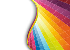Multicolor geometrical background Royalty Free Stock Photos