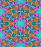 Multicolor geometryczny wzór w jaskrawym kolorze. royalty ilustracja