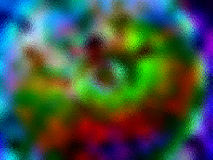 Multicolor Glass. Interesting Colorful Glass Stock Images
