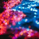 Multicolor glitter background nature elements Stock Image