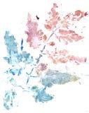 Multicolor Gouache Paint. Vibrant multicolor gouache painted texture as background stock illustration
