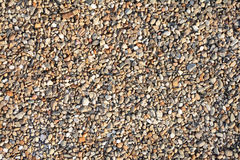 Multicolor gravel stone background close up Royalty Free Stock Image