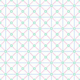 Multicolor grid seamless pattern Royalty Free Stock Images
