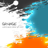 Multicolor Grunge Vector Background Royalty Free Stock Images