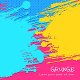 Multicolor Grunge Vector Background Royalty Free Stock Image
