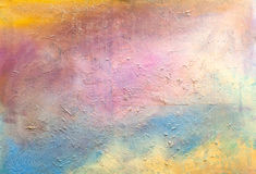 Multicolor grungy texture.Decorative plaster Stock Photos
