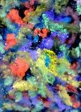 Multicolor guasz farba Zdjęcie Royalty Free