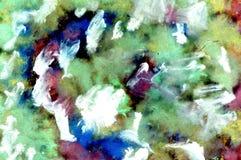 Multicolor guasz farba Zdjęcia Stock