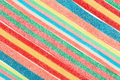 Multicolor gummy candy background