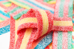 Multicolor gummy candy (licorice) sweets Royalty Free Stock Image