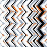 Multicolor hand drawn pattern zigzag Royalty Free Stock Photography
