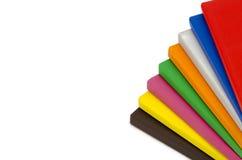 Multicolor Hardcover Book Stock Image