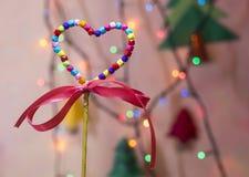 Multicolor heart shape Royalty Free Stock Photos