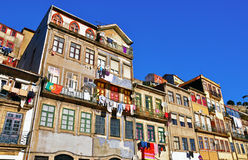 Multicolor houses of Porto Royalty Free Stock Photo