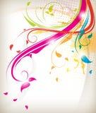 multicolor lövverk royaltyfri illustrationer