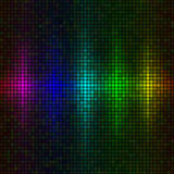 Multicolor lights background Royalty Free Stock Photo