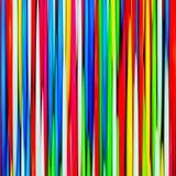 Multicolor linie Obraz Royalty Free