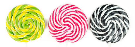Multicolor lollipop party Royalty Free Stock Image