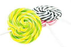 Multicolor lollipop party Stock Photography