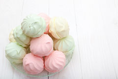 Multicolor marshmallow Royalty Free Stock Photo