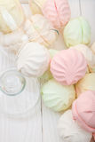 Multicolor marshmallow Royalty Free Stock Images