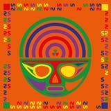 Multicolor mask Stock Photo