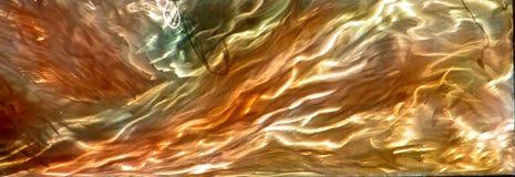 multicolor metallic surface Royalty Free Stock Photo