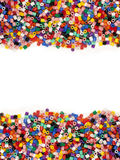 Multicolor Modelling Beads Stock Image