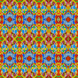 Multicolor Modern Collage Seamless Pattern Royalty Free Stock Photography