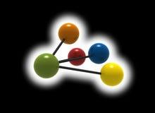 Free Multicolor Molecule Royalty Free Stock Images - 5250959
