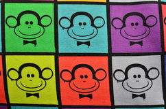 Multicolor monkeys Royalty Free Stock Photos
