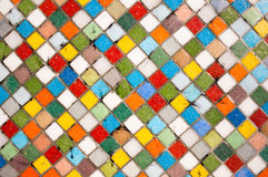 Multicolor mosaic Stock Images