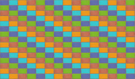 Multicolor mosaic background diagonal lines color bright base Royalty Free Stock Images