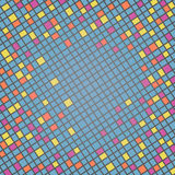 Multicolor Mosaic Background Stock Images