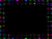 Multicolor mosaic frame Royalty Free Stock Photo