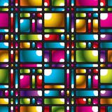 Multicolor mosaic pattern. Royalty Free Stock Photos
