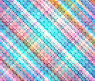 Multicolor Mosaic Square Royalty Free Stock Photos