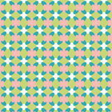 Multicolor   mosaic  vivid geometric backdrop, . Cute text Royalty Free Stock Images