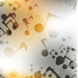 Multicolor music background vector Royalty Free Stock Images