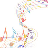 Multicolor musical Stock Images