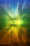 multicolor mystisk uppenbarelsetextur Arkivfoto