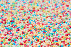 Multicolor nonpareils Royalty Free Stock Photos