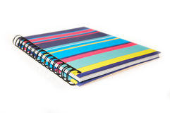 multicolor notepad Obrazy Royalty Free