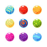 Multicolor Objects Set Royalty Free Stock Images