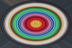 multicolor owal Obraz Royalty Free